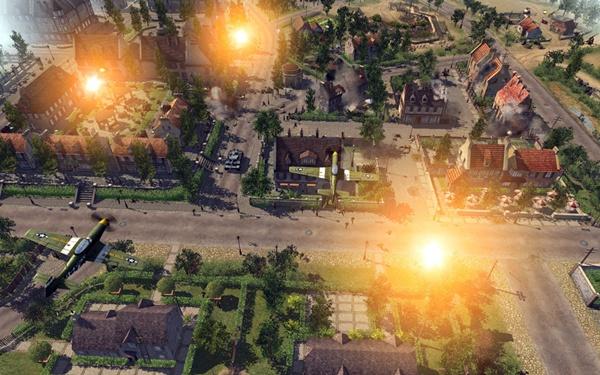 Game de guerra com foco em multiplayer online