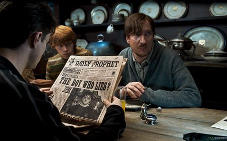 Jornais animados em Harry Potter
