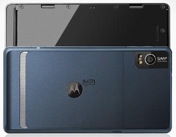 Câmera do Motorola Milestone 2