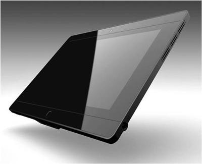 Tablet com Windows 7 e tela de 10 polegadas