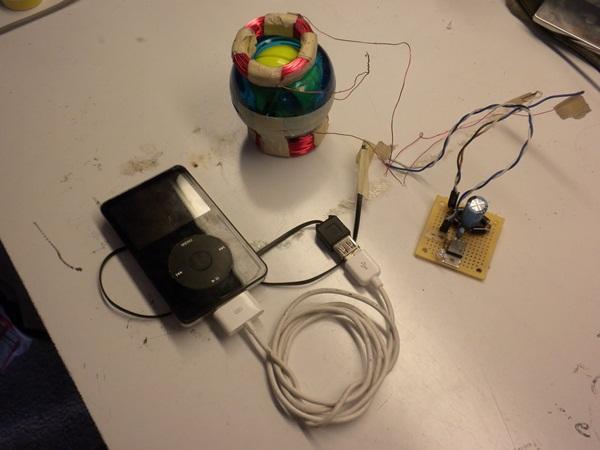 Mecanismo usando uma Powerball