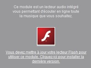 MusicMe sem Flash? Negativo.