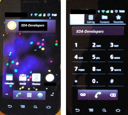 Primeiras imagens do Nexus S da Samsung