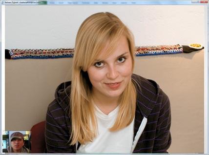 Videochamada em janela cheia no novo Windows Live Messenger 2011