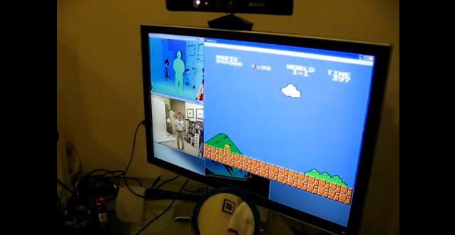Jogando o Mário a partir do Kinect