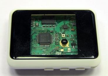 Protótipo com sensores fotossensíveis
