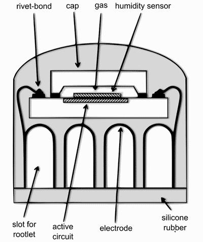 Esquema do chip e seus componentes