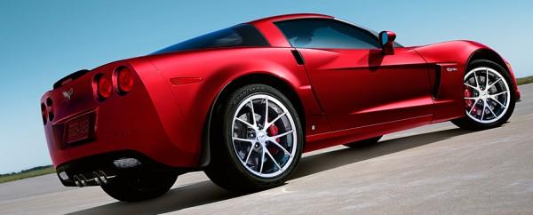 Chevrolet Corvette, o esportivo foi o primeiro a contar com HUD colorido (imagem de divulgação)