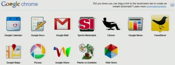 Google Web Store na apresentação do Google I-O