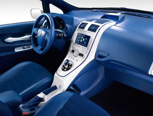 Interior maravilhoso do novo Toyota