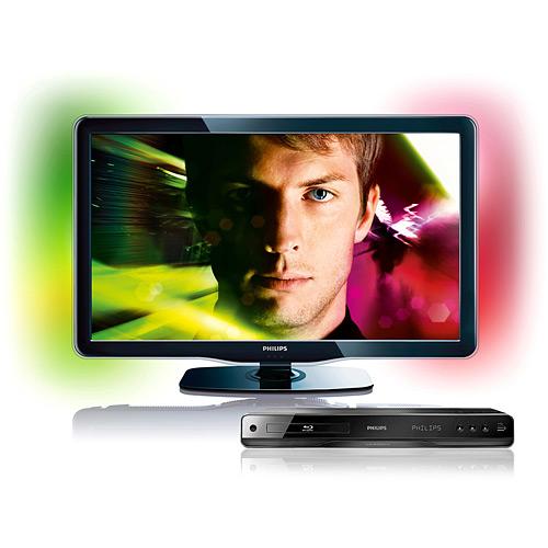 TV Led e Blu-Ray