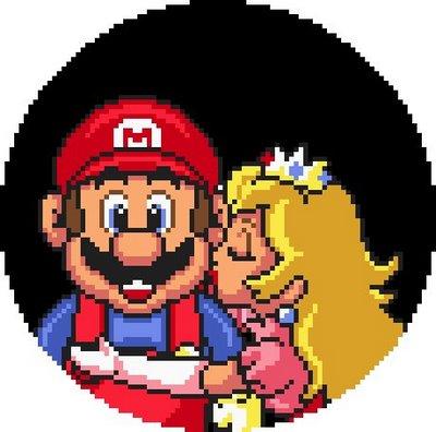 E aí princesa. Deixa eu ser seu Super Mário?