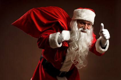 Papai Noel aprova as compras seguras!