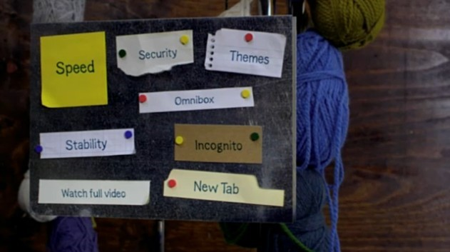 Vídeo de apresentação do Chrome