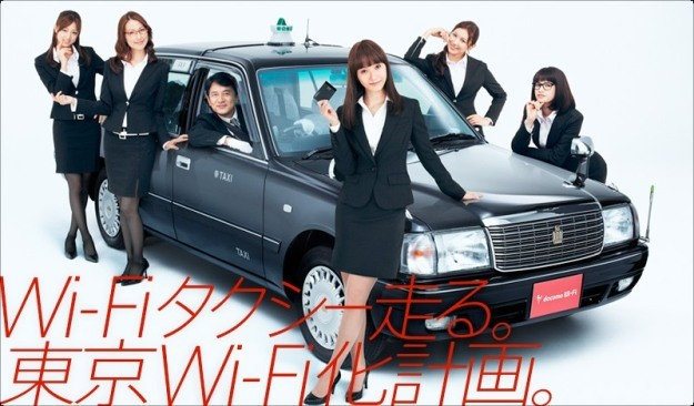 Táxis com Wi-Fi e PSPs
