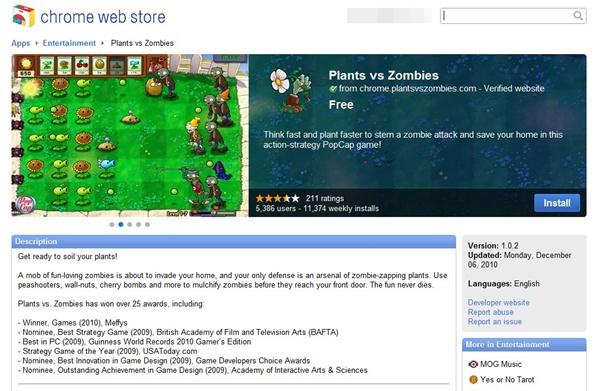 Plants vs. Zombies é um dos aplicativos gratuitos