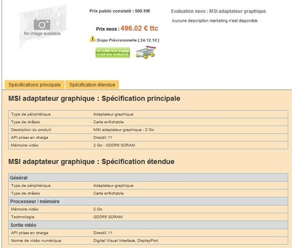 Especificações da Radeon 6970