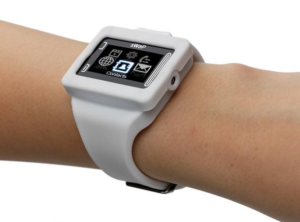 sWaP Rebel: relógio e celular de pulso!
