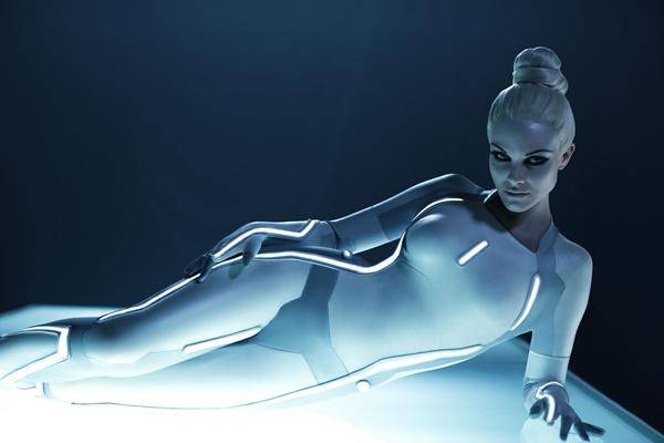 Visual do filme Tron - O Legado