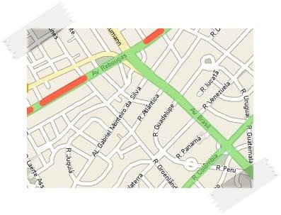 O trânsito cada vez melhor monitorado, de acordo com a pesquisa.
