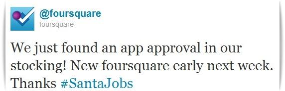Foursquare - Twitter