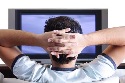 O melhor ângulo para assistir TV!