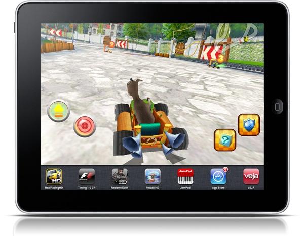 Shrek Racing para iPad