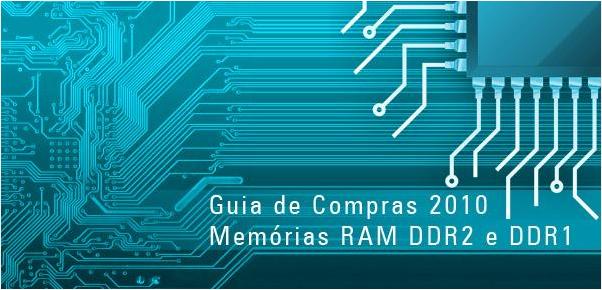 Guia de compras de Memória RAM