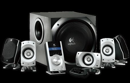 Sistema de som de alta potência