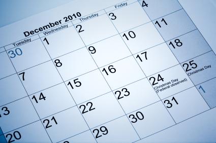 2010 está acabando: é hora de planejar o ano novo!
