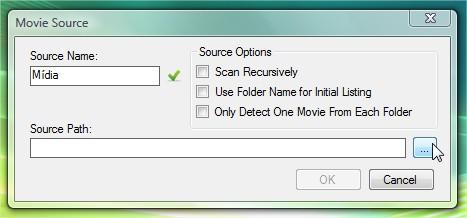 Adicionando a fonte dos arquivos.