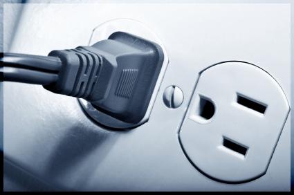 Economizando energia.