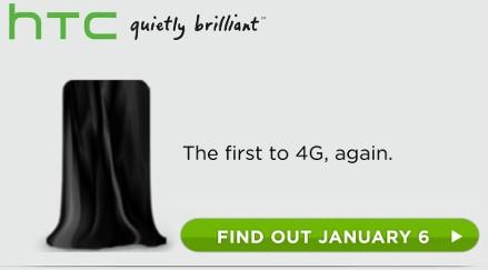 Novo aparelho da HTC será revelado no dia 6 de janeiro