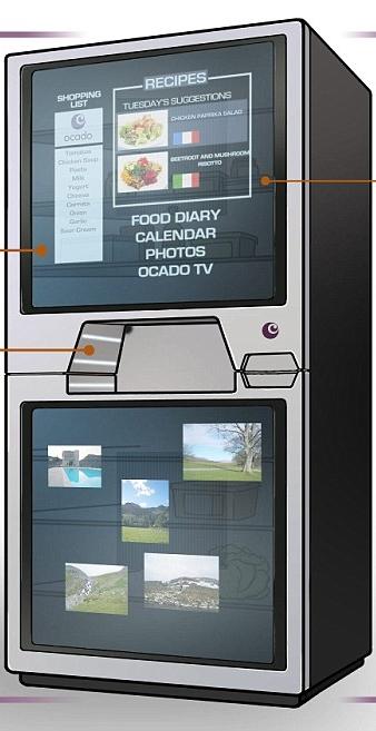 A geladeira mais inteligente que já se viu.