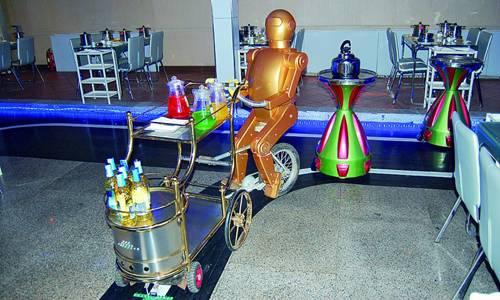 Robôs são especializados em funções distintas