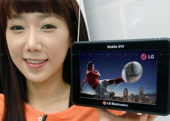 TV 3D portátil da LG.