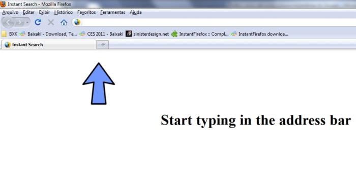 Comece a digitar