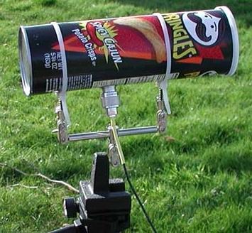 Antenas improvisadas
