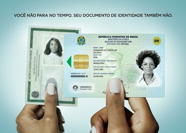 Campanha oficial do novo documento