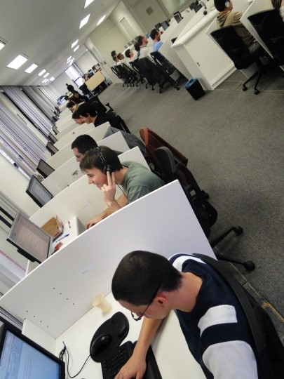 O escritório do maior site de download e tecnologia do Brasil!