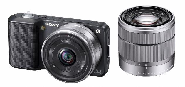 Sony NEX, semiprofissional de lentes intercambiáveis