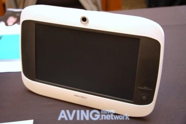 Videoconferência em tablet