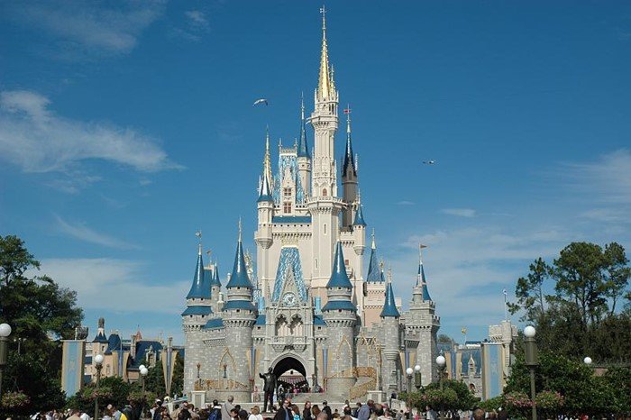 Castelo da Cinderela, no parque Magic Kingdom
