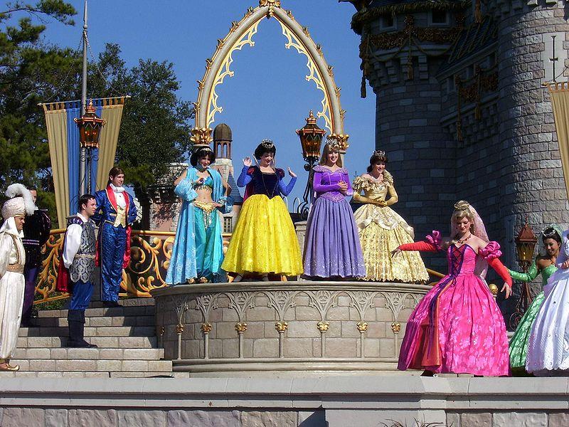 Princesas da Disney, um dos produtos mais rentáveis da empresa