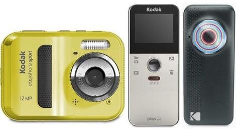 Novas câmeras Kodak.