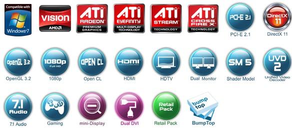 Variedade imensa de tecnologias