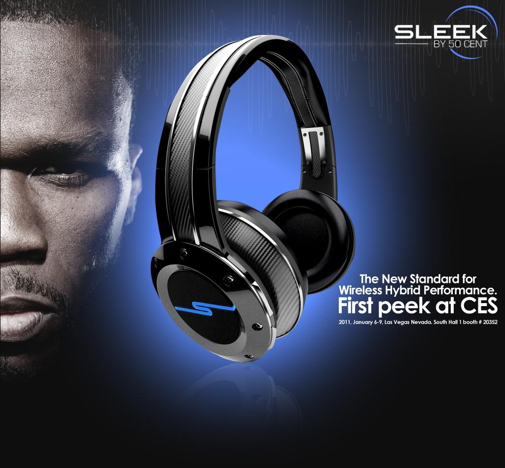 Fones de ouvido do 50 Cent