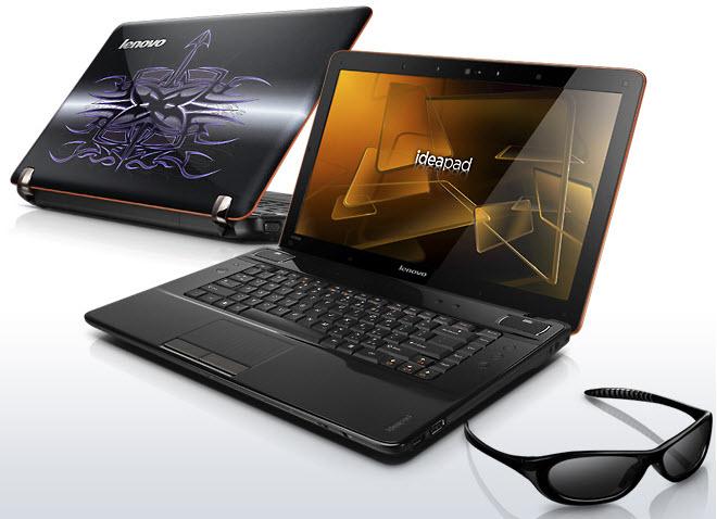 Lenovo IdeaPad Y560d, notebook compatível com os chips Radeon HD 6000M