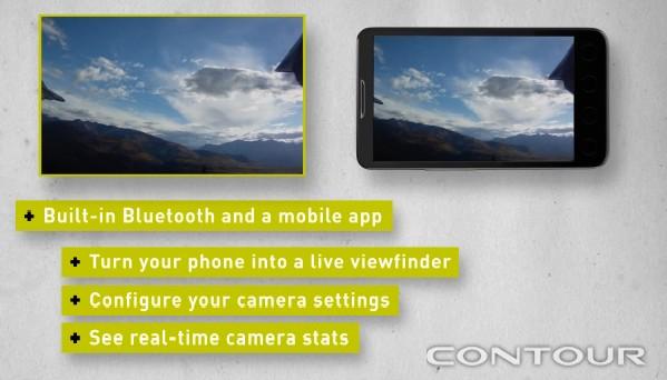 Transmite imagens em tempop real no celular.
