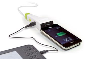 i1 Eco, o carregador universal da Idapt lançado na CES 2011. Foto: Divulgação
